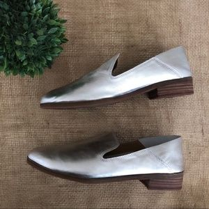 Lucky Brand Womens Cahill Leather Slip On 7M